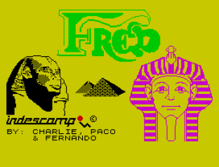 Fred ZX Spectrum 01