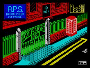 Grange Hill ZX Spectrum 01