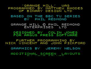 Grange Hill ZX Spectrum 27