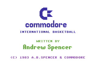 International Basketball C64 01