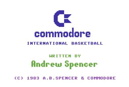 International Basketball C64 01