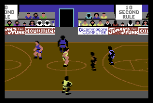 International Basketball C64 09