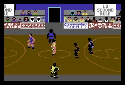 International Basketball C64 09