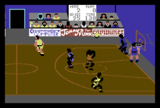 International Basketball C64 10
