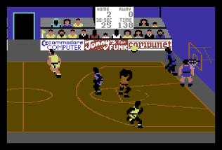 International Basketball C64 10