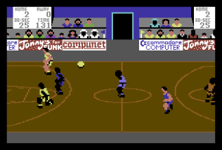 International Basketball C64 11