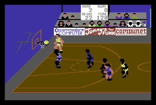 International Basketball C64 12