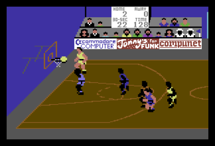 International Basketball C64 12