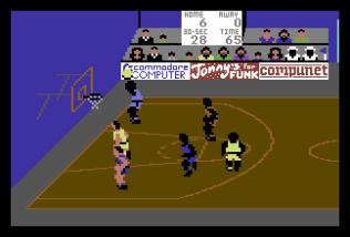 International Basketball C64 22