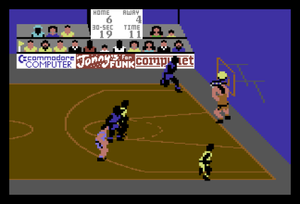 International Basketball C64 31
