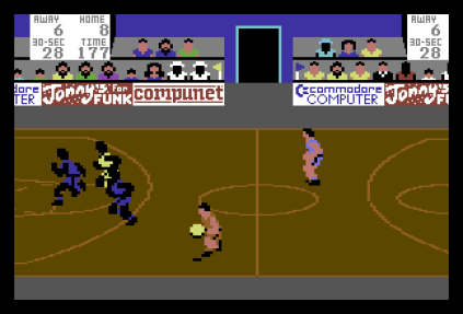 International Basketball C64 34