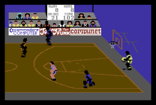 International Basketball C64 42