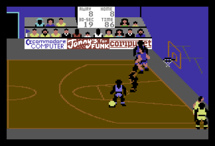 International Basketball C64 45