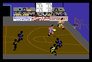 International Basketball C64 53
