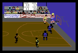International Basketball C64 54