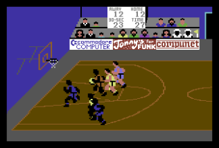 International Basketball C64 55