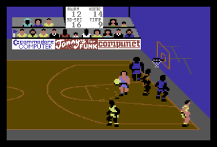 International Basketball C64 56
