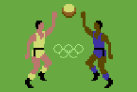 International Basketball C64 61