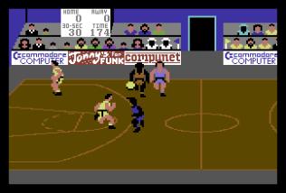 International Basketball C64 62