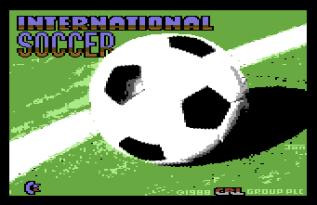 International Soccer C64 01