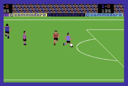 International Soccer C64 12