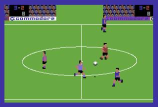 International Soccer C64 21
