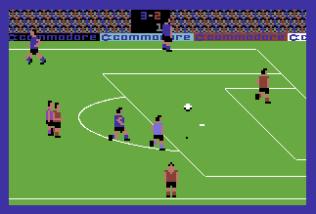 International Soccer C64 22