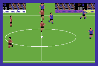 International Soccer C64 23