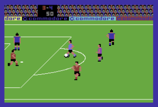 International Soccer C64 34