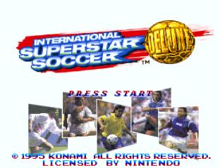 International Superstar Soccer Deluxe SNES 01