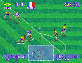 International Superstar Soccer Deluxe SNES 20
