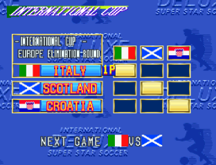 International Superstar Soccer Deluxe SNES 42