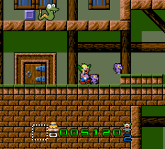 Krusty's Super Fun House SNES 21