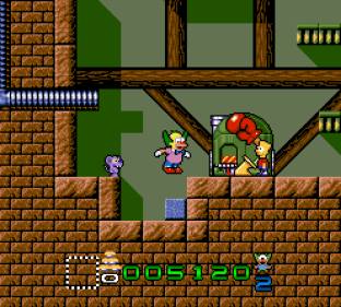 Krusty's Super Fun House SNES 23