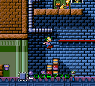 Krusty's Super Fun House SNES 31
