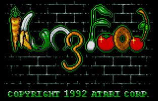 Kung Food Atari Lynx 01