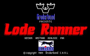Lode Runner Amstrad CPC 01