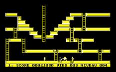 Lode Runner Amstrad CPC 10