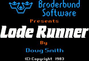 Lode Runner Apple II 01