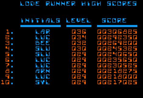 Lode Runner Apple II 26