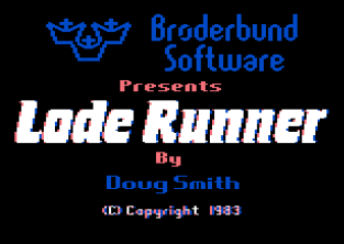 Lode Runner Atari 800 01