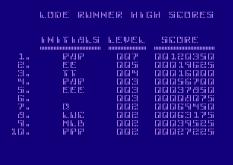 Lode Runner Atari 800 22