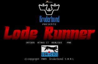 Lode Runner Atari ST 01