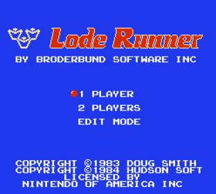 Lode Runner NES 01
