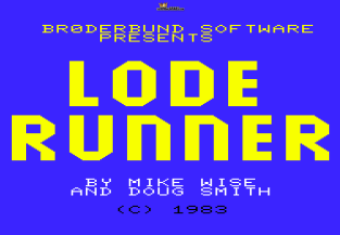 Lode Runner VIC-20 01