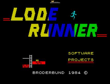 Lode Runner ZX Spectrum 01
