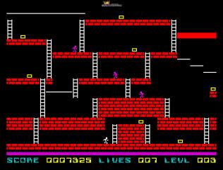 Lode Runner ZX Spectrum 10
