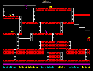 Lode Runner ZX Spectrum 11