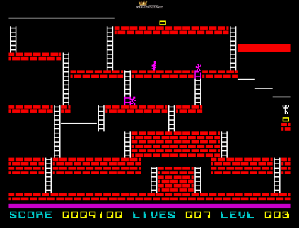 Lode Runner ZX Spectrum 12