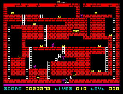 Lode Runner ZX Spectrum 20
